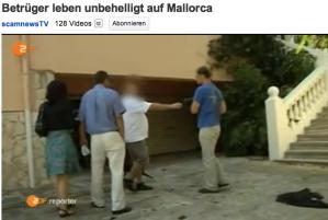 Betrüger in Mallorca